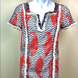 Tory Burch shortsleeved blouse